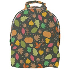 Thanksgiving Pattern Mini Full Print Backpack by Valentinaart