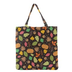 Thanksgiving Pattern Grocery Tote Bag by Valentinaart