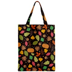 Thanksgiving Pattern Classic Tote Bag by Valentinaart