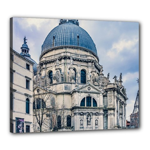 Santa Maria Della Salute Church, Venice, Italy Canvas 24  X 20  (stretched)