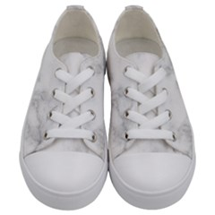 Marble Kids  Low Top Canvas Sneakers