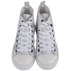 Marble Women s Mid Top Canvas Sneakers