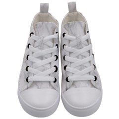 Marble Kid s Mid Top Canvas Sneakers