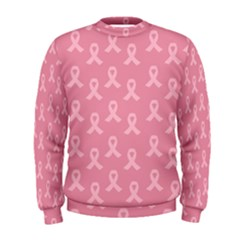 Pink Ribbon   Breast Cancer Awareness Month Men s Sweatshirt by Valentinaart