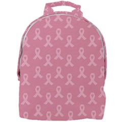 Pink Ribbon   Breast Cancer Awareness Month Mini Full Print Backpack by Valentinaart
