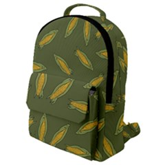 Corn Pattern Flap Pocket Backpack (small) by Valentinaart