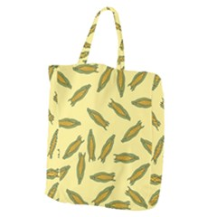 Corn Pattern Giant Grocery Tote by Valentinaart