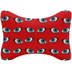 Blue Eyes Pattern Seat Head Rest Cushion