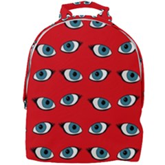 Blue Eyes Pattern Mini Full Print Backpack by Valentinaart