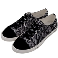 Mother Mary Men s Low Top Canvas Sneakers by nicholakarma