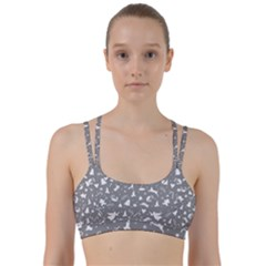 Christmas Pattern Line Them Up Sports Bra by Valentinaart