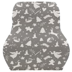 Christmas Pattern Car Seat Back Cushion  by Valentinaart