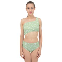 Christmas Pattern Spliced Up Two Piece Swimsuit by Valentinaart