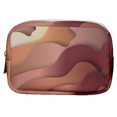 Autumn Copper Gradients Copyspace Make Up Pouch (small)