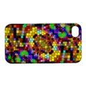 Color Mosaic Background Wall Apple iPhone 4/4S Hardshell Case with Stand View1