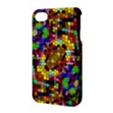 Color Mosaic Background Wall Apple iPhone 4/4S Hardshell Case with Stand View3
