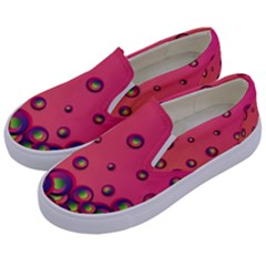 Wallpaper Background Funny Texture Kids  Canvas Slip Ons by Sapixe