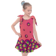 Wallpaper Background Funny Texture Kids  Tie Up Tunic Dress