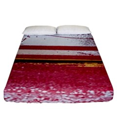 Boat Chipped Close Up Damaged Fitted Sheet (king Size)