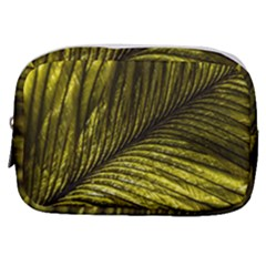 Feather Macro Bird Plumage Nature Make Up Pouch (small)