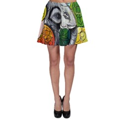 Graffiti The Art Of Spray Mural Skater Skirt
