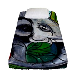 Graffiti The Art Of Spray Mural Fitted Sheet (single Size)