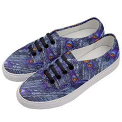 Peacock Feathers Color Plumage Blue Women s Classic Low Top Sneakers by Sapixe