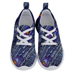Peacock Feathers Color Plumage Blue Running Shoes by Sapixe
