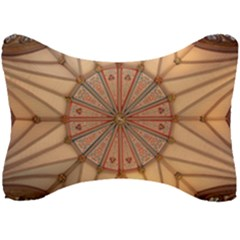 York Minster Chapter House Seat Head Rest Cushion by Sapixe