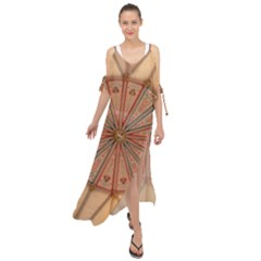 York Minster Chapter House Maxi Chiffon Cover Up Dress by Sapixe