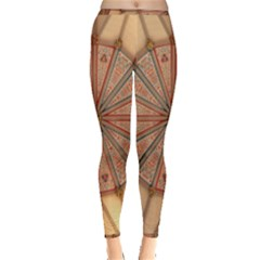 York Minster Chapter House Inside Out Leggings by Sapixe