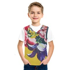Textile Printing Flower Rose Cover Kids  Sportswear