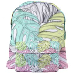 Leaves Tropical Nature Plant Giant Full Print Backpack