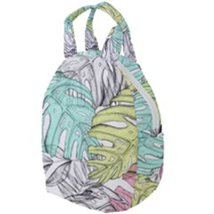 Leaves Tropical Nature Plant Travel Backpacks by Sapixe