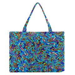 New Stuff 9 Zipper Medium Tote Bag by ArtworkByPatrick