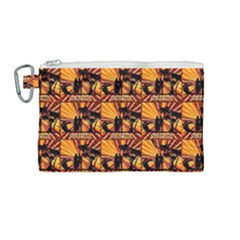 Surfing Canvas Cosmetic Bag (medium)