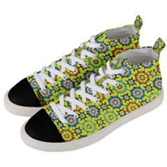 New Stuff 2-2 Men s Mid-top Canvas Sneakers by ArtworkByPatrick