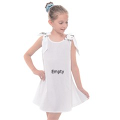 Mushrooms Life Spin Kids  Tie Up Tunic Dress
