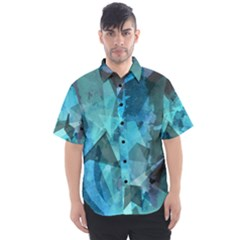 Song Sung Blue Men s Short Sleeve Shirt