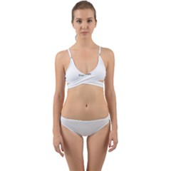 Polar Bear Family  Wrap Around Bikini Set