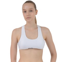 Polar Bear Family  Criss Cross Racerback Sports Bra