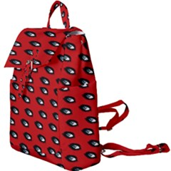 Eyes Red Buckle Everyday Backpack