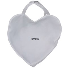 Christmas Bauble  Giant Heart Shaped Tote