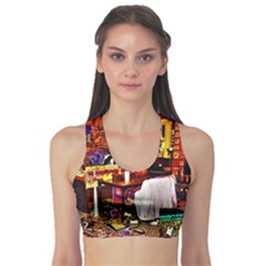 Painted House Sports Bra