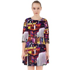 Painted House Smock Dress