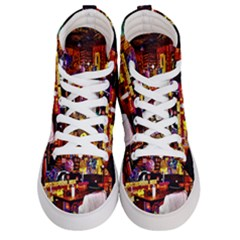 Painted House Men s Hi Top Skate Sneakers