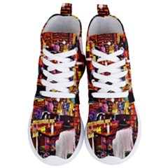 Painted House Women s Lightweight High Top Sneakers