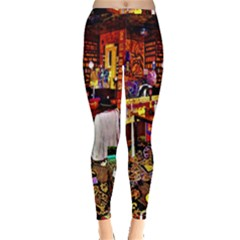 Painted House Inside Out Leggings