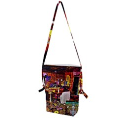 Painted House Folding Shoulder Bag