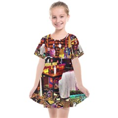 Painted House Kids  Smock Dress